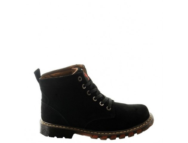 Ботинки Adidas Ransom Original Boot Black С МЕХОМ