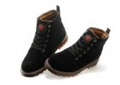 Ботинки Adidas Ransom Original Boot Black С МЕХОМ - Фото 6