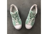 Кроссовки Adidas Superstar Olive - Фото 8
