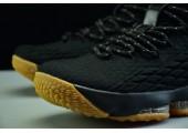 Баскетбольные кроссовки Nike LeBron 15 Black Gum - Фото 7