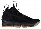 Баскетбольные кроссовки Nike LeBron 15 Black Gum - Фото 1