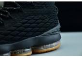 Баскетбольные кроссовки Nike LeBron 15 Black Gum - Фото 6