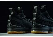 Баскетбольные кроссовки Nike LeBron 15 Black Gum - Фото 3