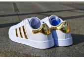 Кроссовки Adidas Superstar Rose/Gold - Фото 4