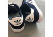Кроссовки Adidas Superstar Suede Collegiate Navy/White - Фото 9
