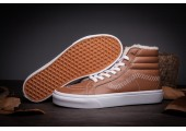 Зимние кеды Vans High-top Classic Brown С МЕХОМ - Фото 4