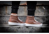 Зимние кеды Vans High-top Classic Brown С МЕХОМ - Фото 5