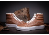 Зимние кеды Vans High-top Classic Brown С МЕХОМ - Фото 10