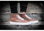 Зимние кеды Vans High-top Classic Brown С МЕХОМ - Фото 8