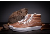 Зимние кеды Vans High-top Classic Brown С МЕХОМ - Фото 7