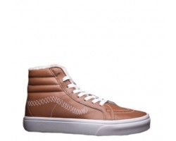 Зимние кеды Vans High-top Classic Brown С МЕХОМ