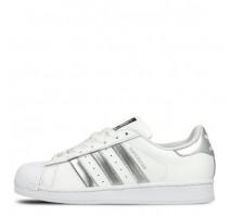 Кроссовки Adidas Superstar White Silver