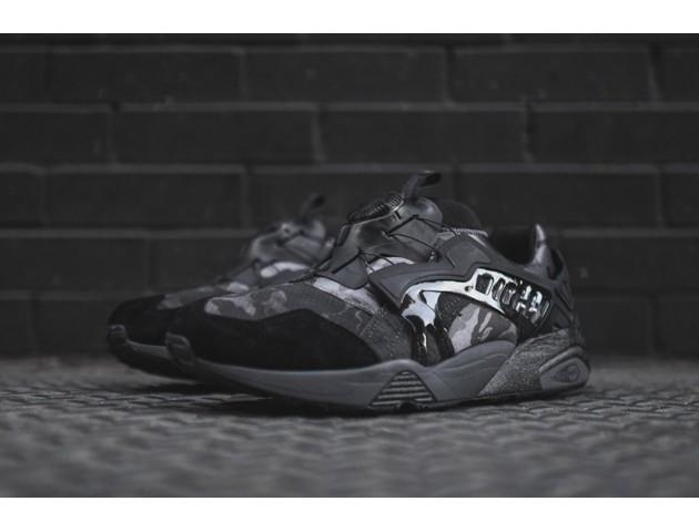Кроссовки Puma X Bape Disc Blaze Black/Camo
