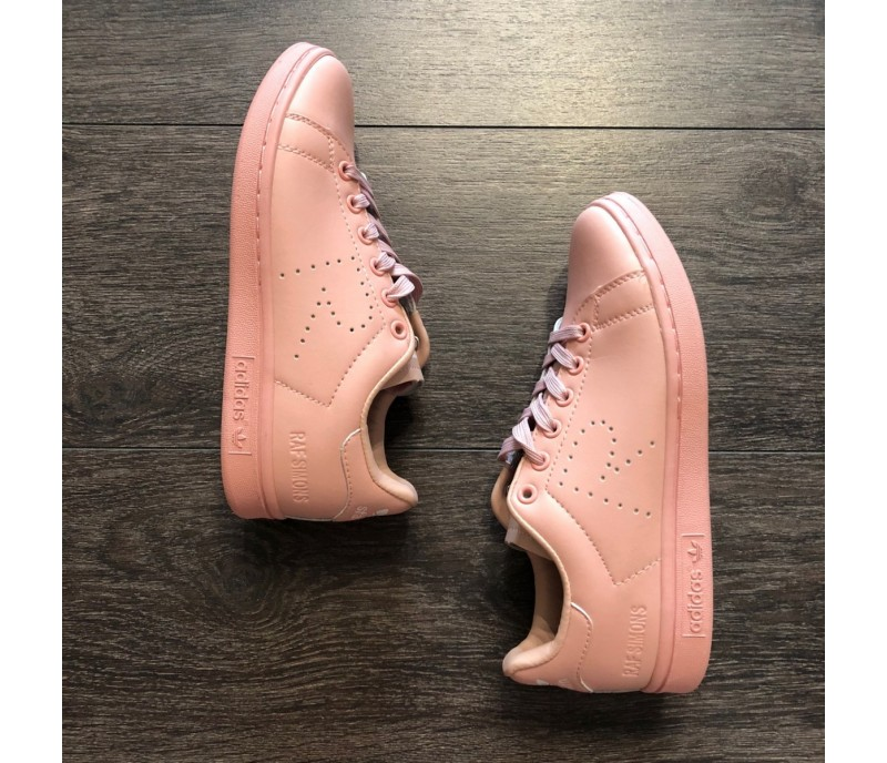 reputable site e12f6 32e53 Кроссовки Raf Simons x Аdidas Stan Smith Ash Pink