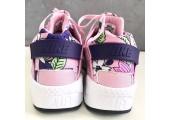 Кроссовки Nike Air Huarache Pink Floral - Фото 5