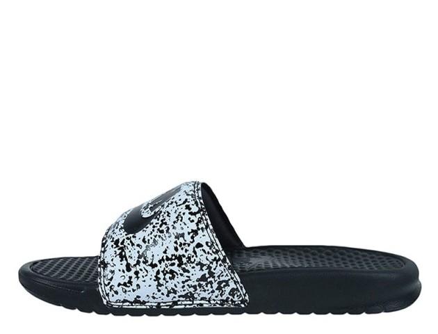Шлепанцы Nike Benassi JDI Print Black/Whte
