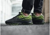 Кроссовки Nike Air Max 2017 Black/Palm Green - Фото 5