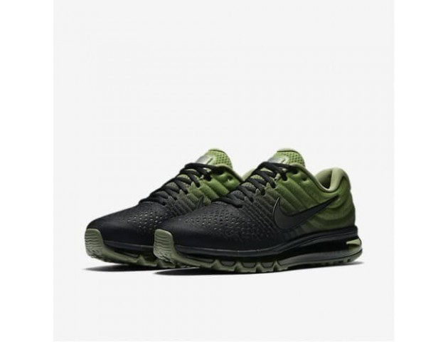 Кроссовки Nike Air Max 2017 Black/Palm Green