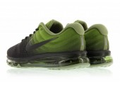 Кроссовки Nike Air Max 2017 Black/Palm Green - Фото 2