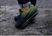 Кроссовки Nike Air Max 2017 Black/Palm Green - Фото 4