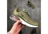 Кроссовки Nike Air Max 270 Medium Olive - Фото 7