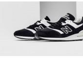 Кроссовки New Balance 997 White/Black - Фото 3