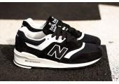 Кроссовки New Balance 997 White/Black - Фото 1