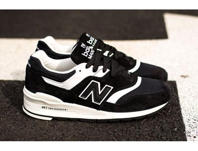 Кроссовки New Balance 997 White/Black