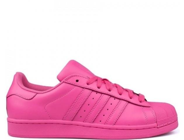 Кроссовки Adidas Pharrell Williams Superstar Supercolor Rose