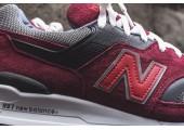 Кроссовки New Balance M997 Red - Фото 3