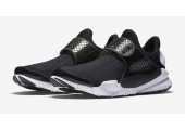 Кроссовки Nike Sock Dart Black And White - Фото 4