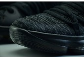 Кроссовки Nike KD 10 All Black Samurai - Фото 4