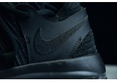 Кроссовки Nike KD 10 All Black Samurai - Фото 3