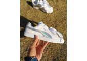 Кроссовки Puma Basket Heart White holographic - Фото 7