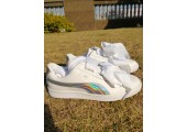 Кроссовки Puma Basket Heart White holographic - Фото 5