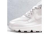 Кроссовки Nike Air Max 90 Premium White/Metallic Silver - Фото 4