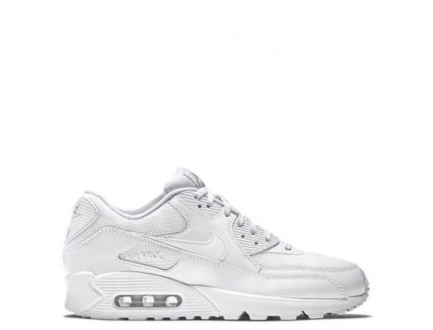 Кроссовки Nike Air Max 90 Premium White/Metallic Silver