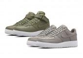 Кроссовки NikeLab Air Force 1 Low Light Charcoal/White - Фото 3