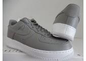 Кроссовки NikeLab Air Force 1 Low Light Charcoal/White - Фото 1