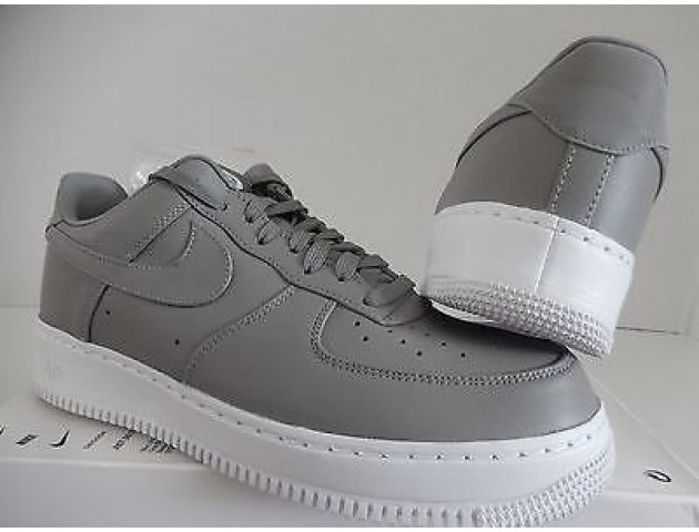 Кроссовки NikeLab Air Force 1 Low Light Charcoal/White
