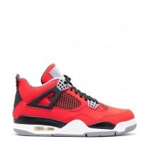 Баскетбольные кроссовки Air Jordan IV Fire Red Nubuck