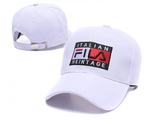 Кепка Fila Italian White
