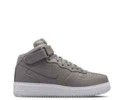 Кроссовки NikeLab Air Force 1 Mid Light Charcoal/White