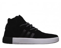 Кроссовки Adidas Tubular Invader Core Black/Vintage White