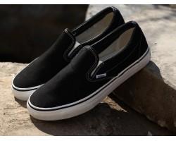Кеды - Слипоны Vans Black/White
