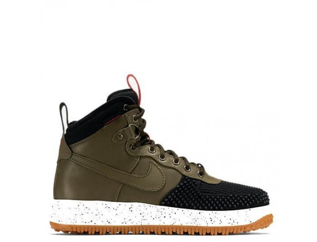 Кроссовки Nike Lunar Force 1 Duckboot Army Green/Black