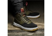 Кроссовки Nike Lunar Force 1 Duckboot Army Green/Black - Фото 3