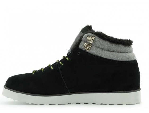 Кроссовки Adidas Seneo Rugged Black/Grey С МЕХОМ