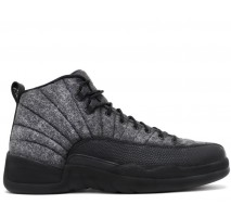 Баскетбольные кроссовки Nike Air Jordan 12 Retro Grey/Black