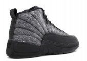 Баскетбольные кроссовки Nike Air Jordan 12 Retro Grey/Black - Фото 2